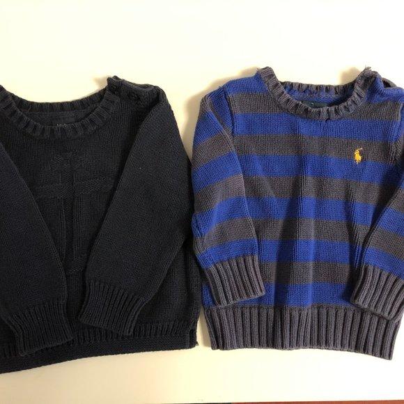 Polo & GAP Baby knit sweater, size 12M & 18-24M